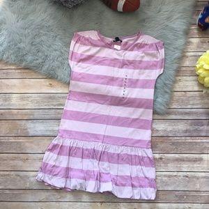 Gap Lavender Striped Dress NEW NWT 12 Preppy Girls